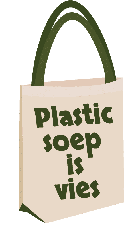 plastic soep is vies