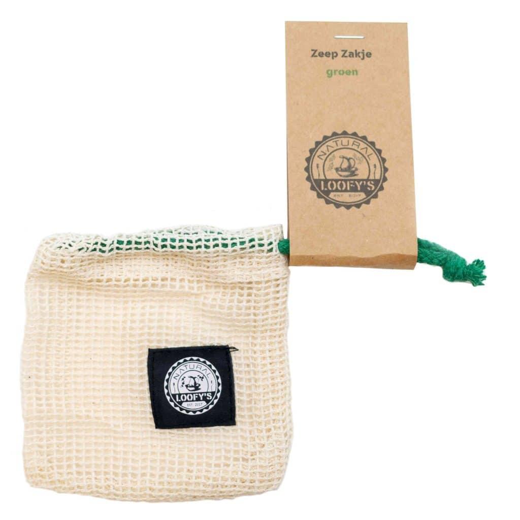 loofys-zeep-zakje-groen-touwtje