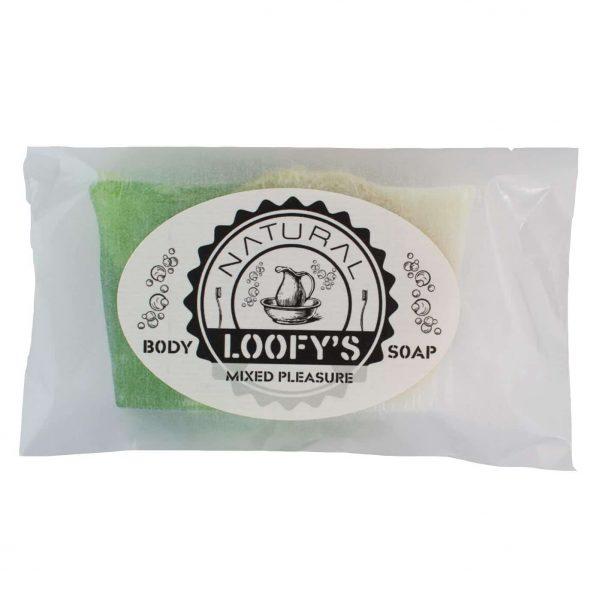 body-scrub-mixed-pleasure-loofys-bovenaanzicht-navulling-verpakking
