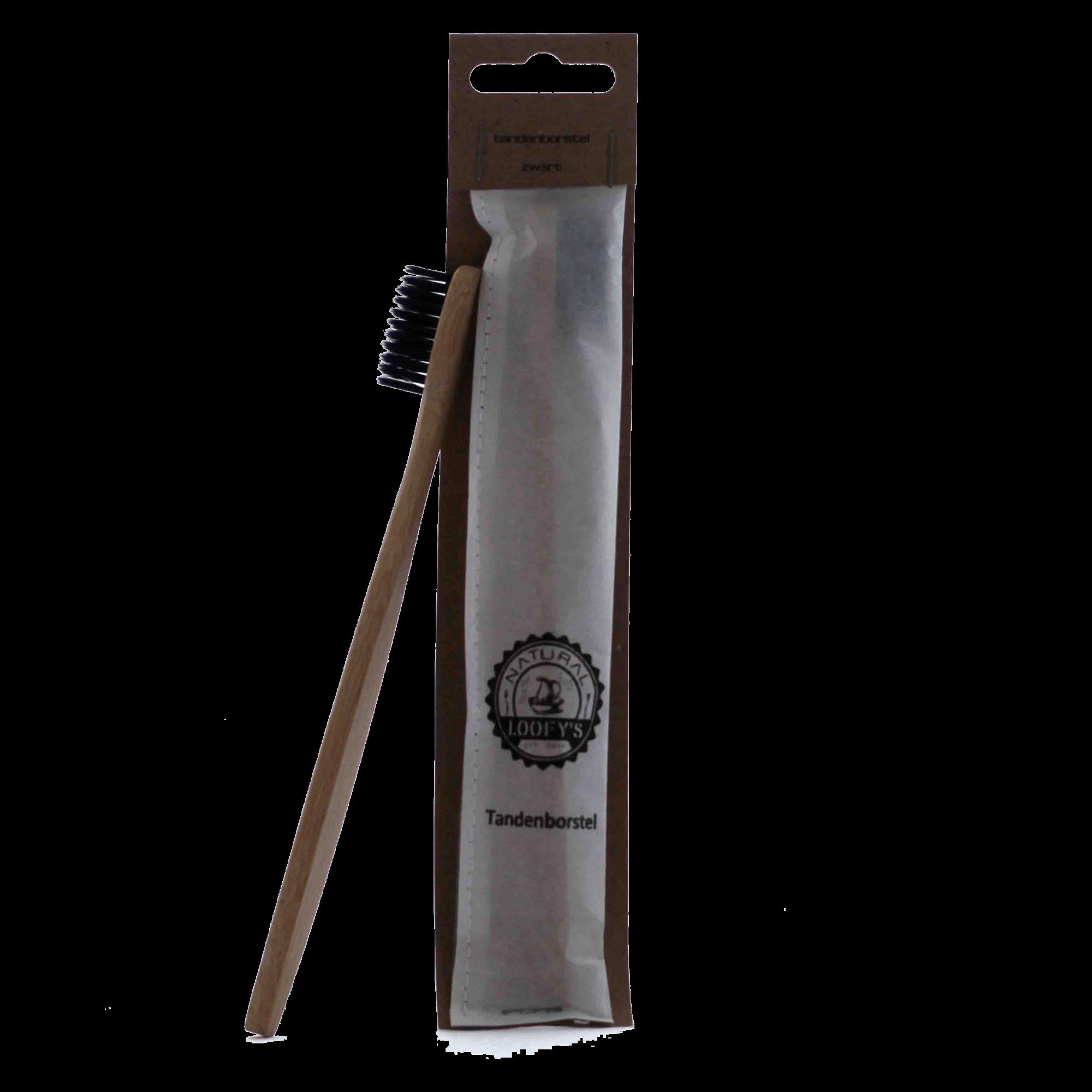 Tandenborstel zwart -za-min